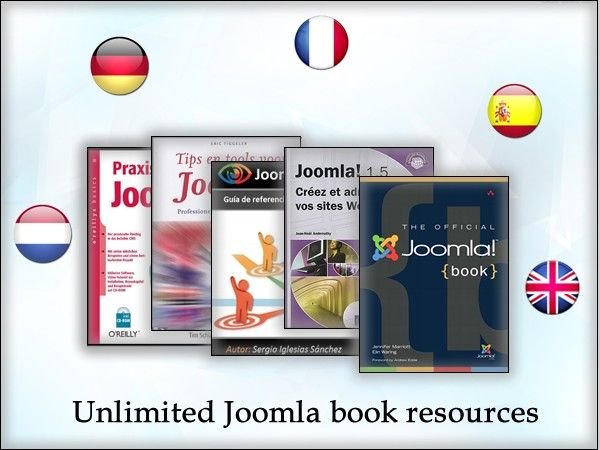 Good books can help you get further along the road: They enable novices to get an overview or professionals to easily reach a whole new level of Joomla understanding. And below are your Joomla book lists, if you use any of these five languages: English, French, Dutch, Spanish or German. Hope that you will get the most from them!
