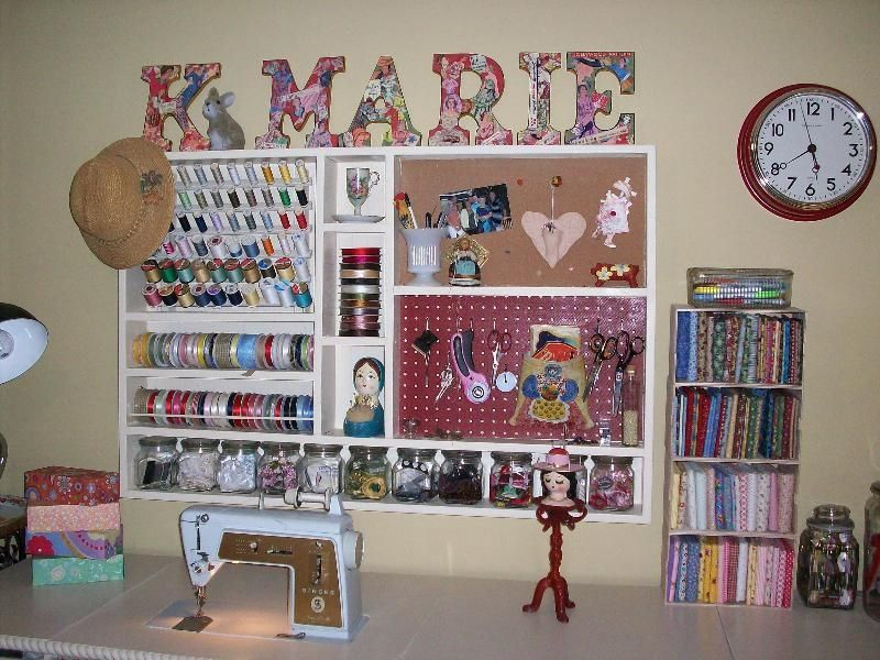 more of the craft room