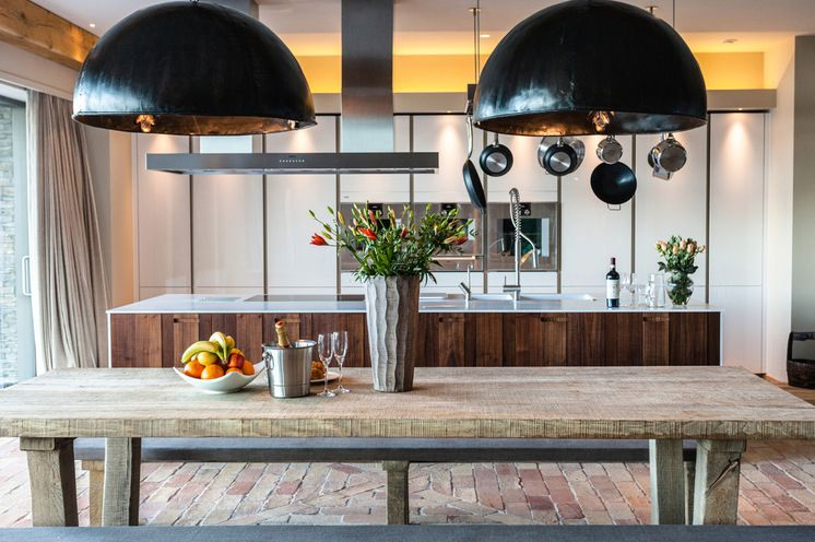 Rustic Kitchen by Charles Howey