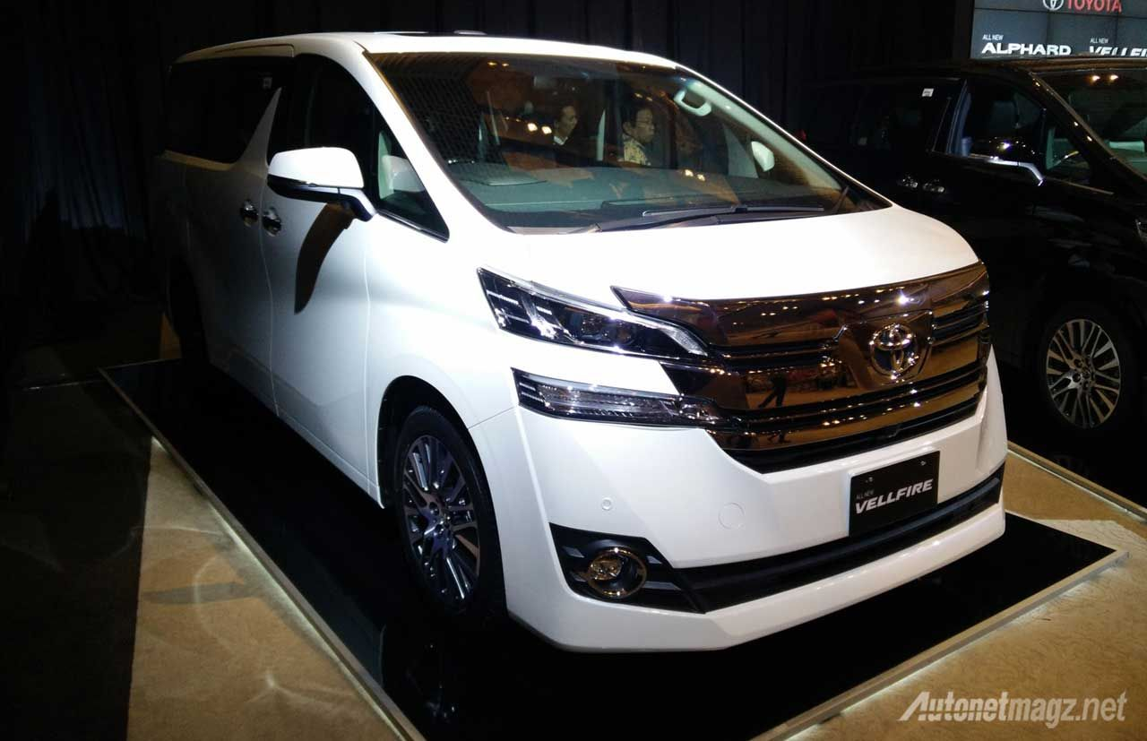 Perbedaan All New Alphard Dan Vellfire Agya Trd 2018 Berita Toyota Putih First Impression Review