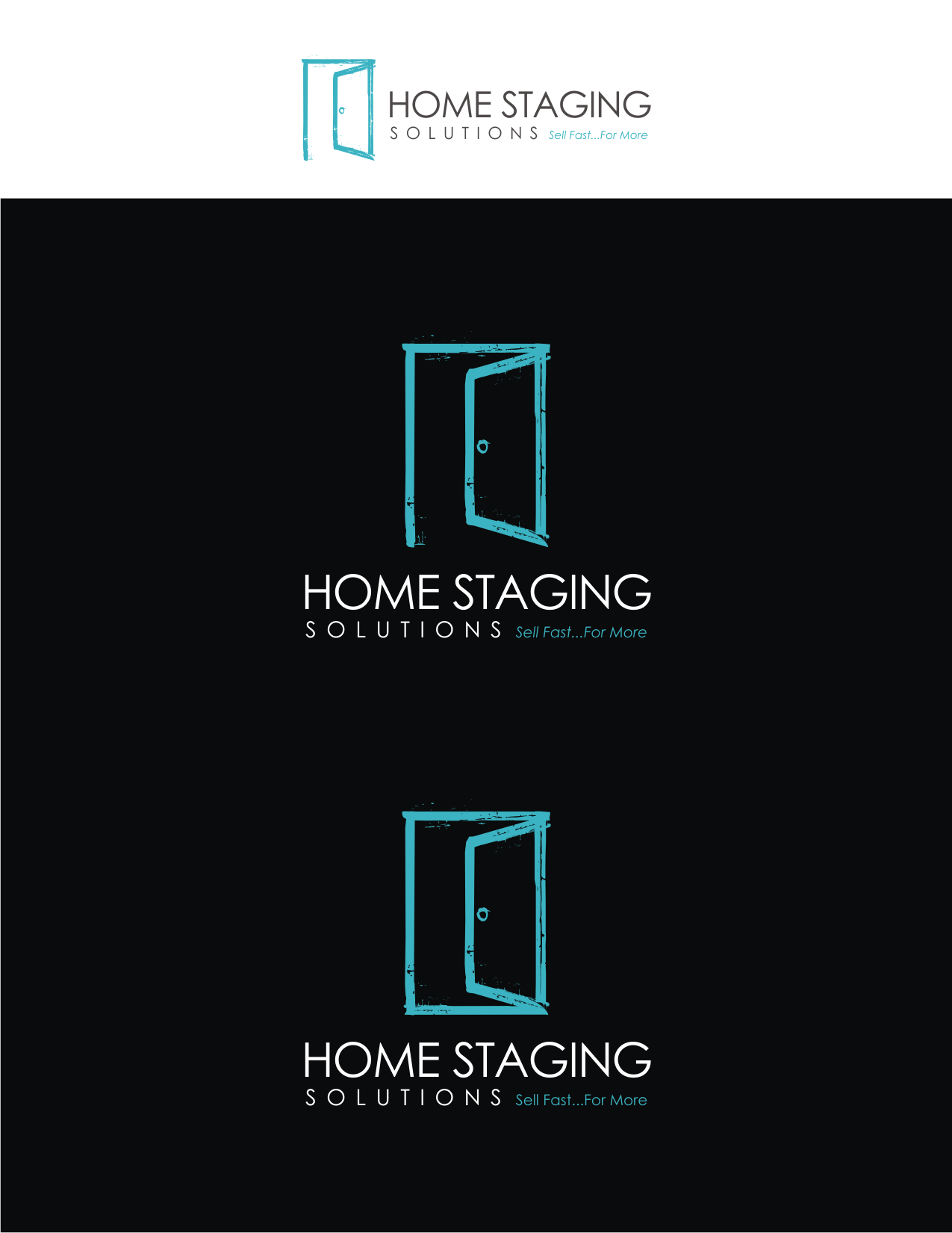 Logo & business card by beepy home staging logos