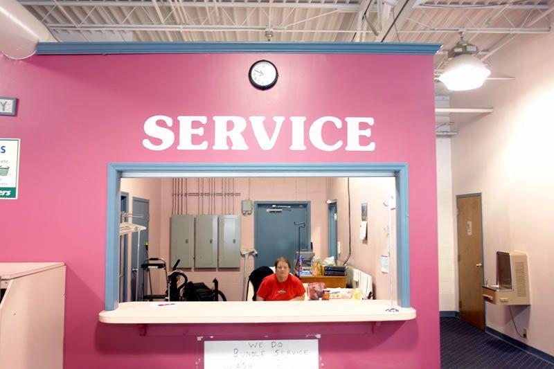Pink service dept