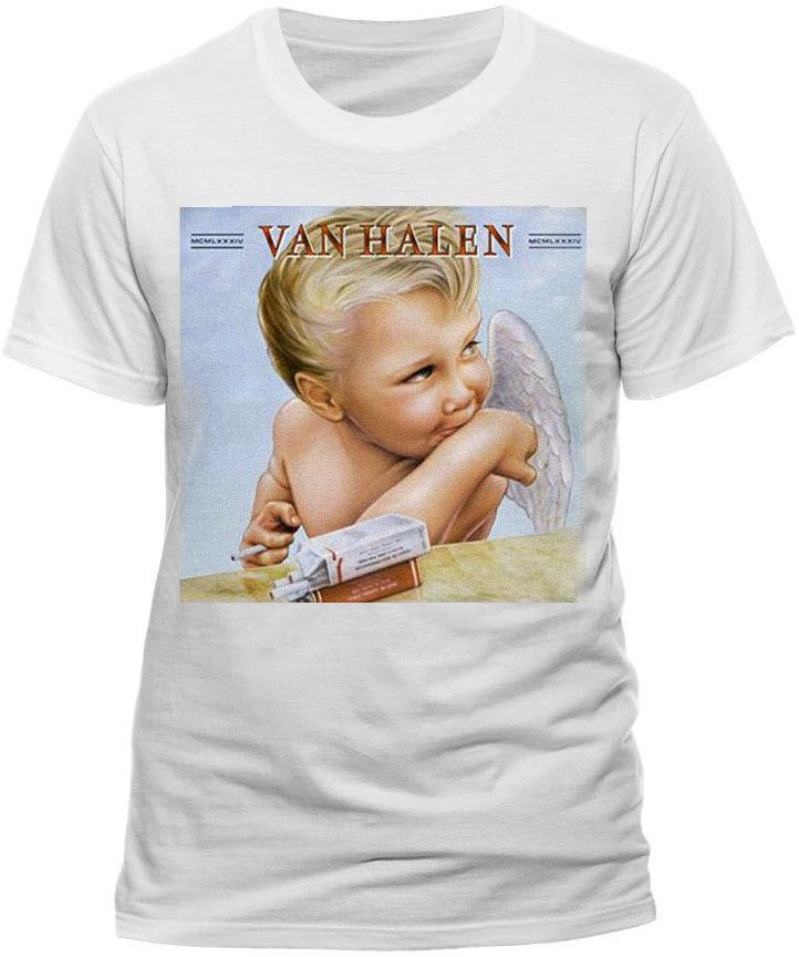 Van Halen 1984 T Shirt Official Mens S M L Xl Xxl Album Cover Hot For Teacher Clothes Shoes Accessories Men S Clothing Mens Shirts Tour T Shirts Shirts