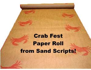 Elevate Your Crab Feed Table Covering!