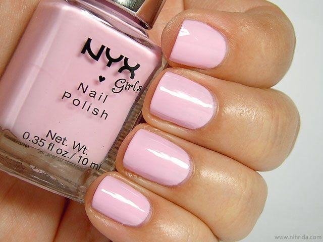 NYX Girls Nail Polish in French Pink   Nyx Polish   Pinterest ...