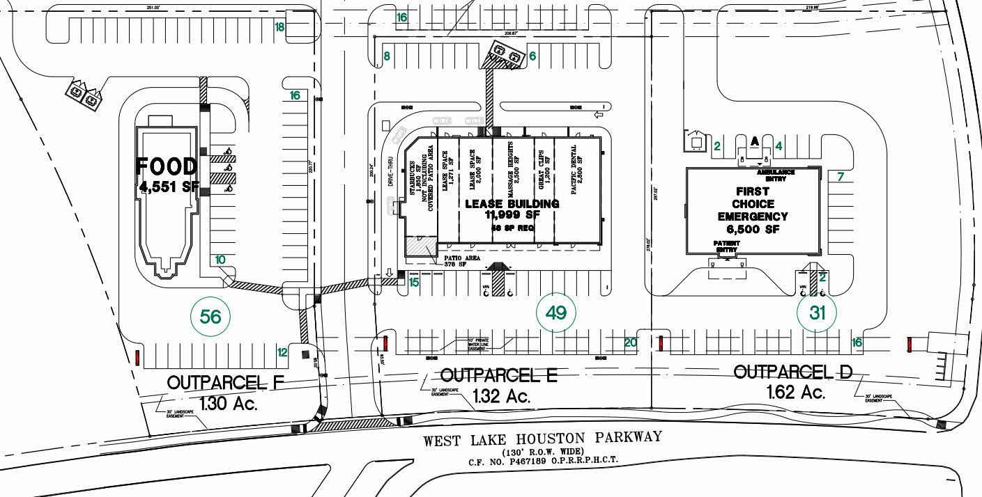 UPDATE: Massage Heights & First Choice ER, joining Starbucks & others in Summerwood crossing