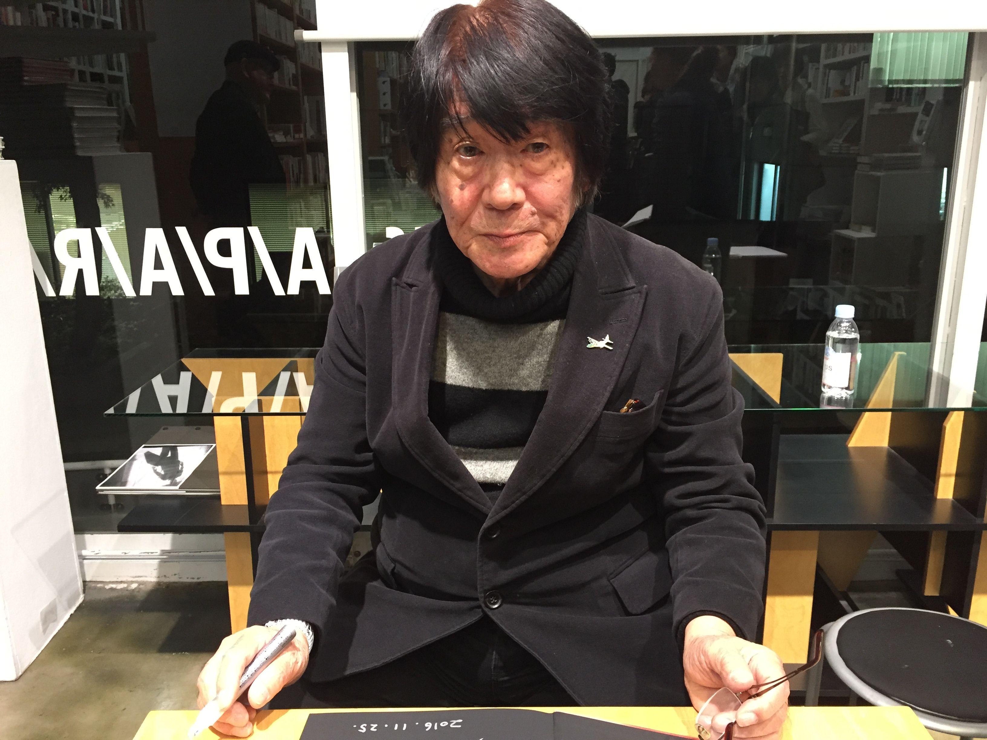 Daido Moriyama 25.Nov.2016 pho...
