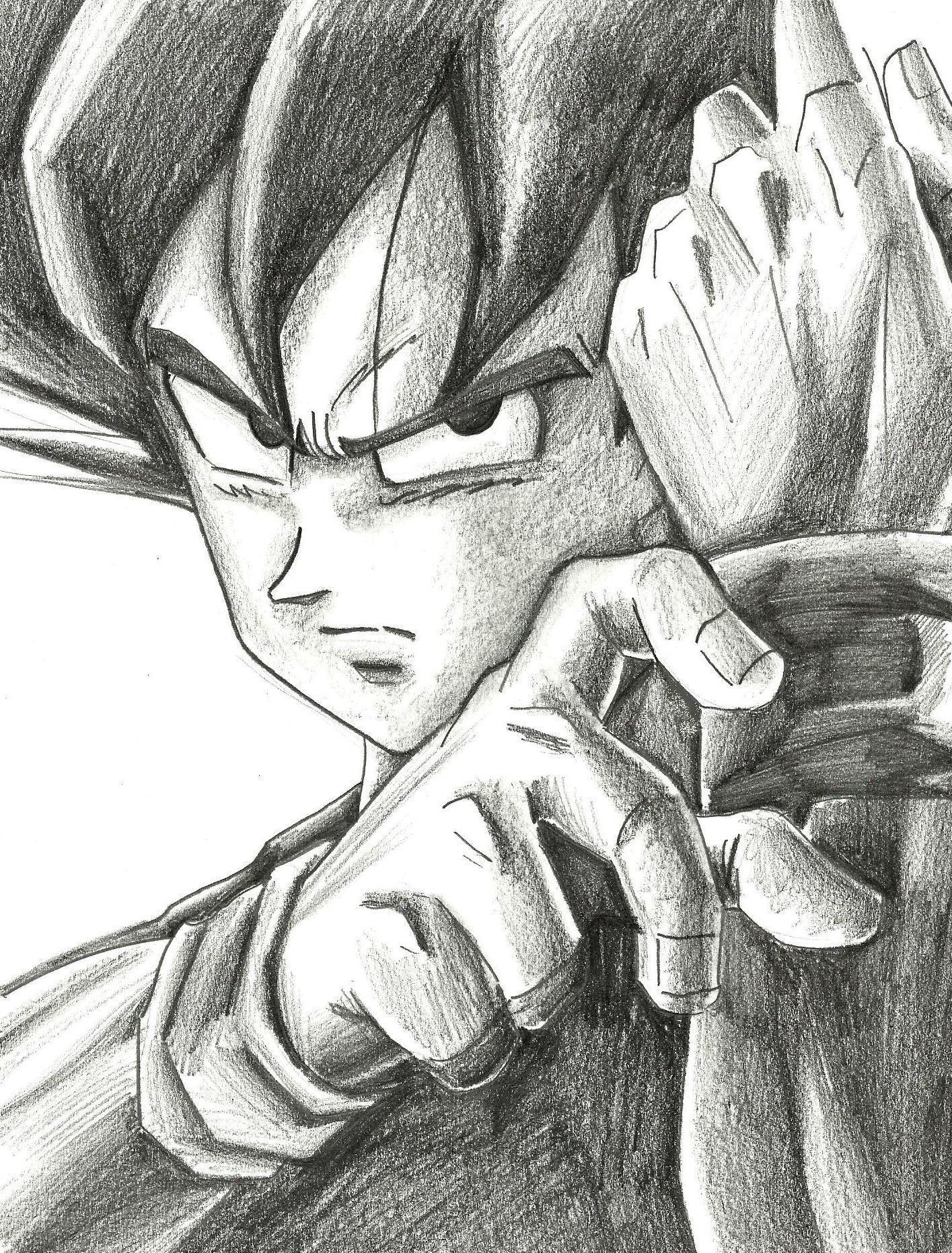 Descargar Imagenes De Dibujos Hechos A Lapiz Dibujos Chidos Goku A Lapiz Dibujos Hechos A Lapiz Goku Dibujo A Lapiz