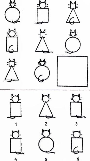 логическая задача Шесть кошек