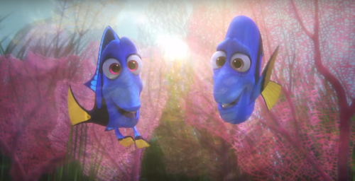 Ellen DeGeneres unveils new 'Finding Dory' trailer... #FindingDory: Ellen DeGeneres unveils new 'Finding Dory' trailer… #FindingDory