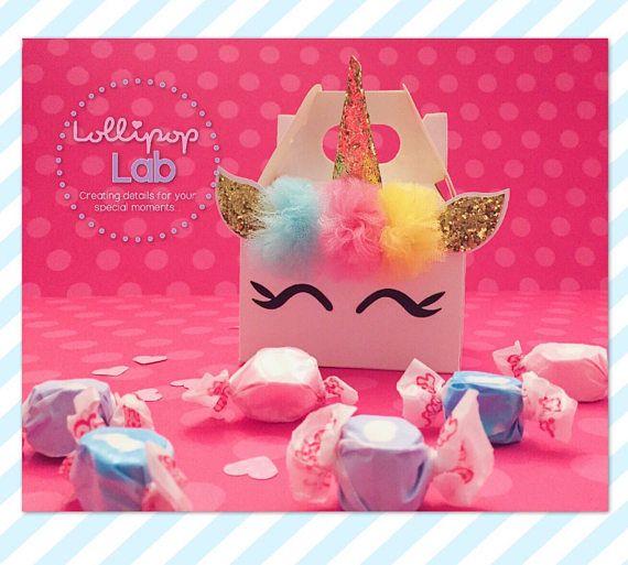 Mini cotillón cumpleaños Unicornio favor de partido de  da8d55f5d53ca