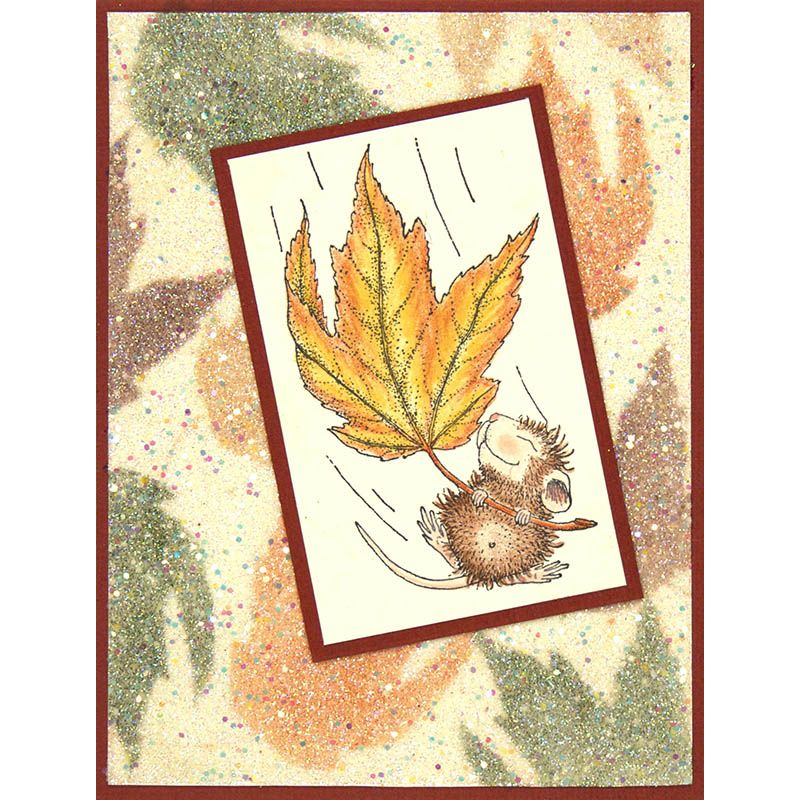 Fall Float Stamp House mouse stamps, House mouse, Paper