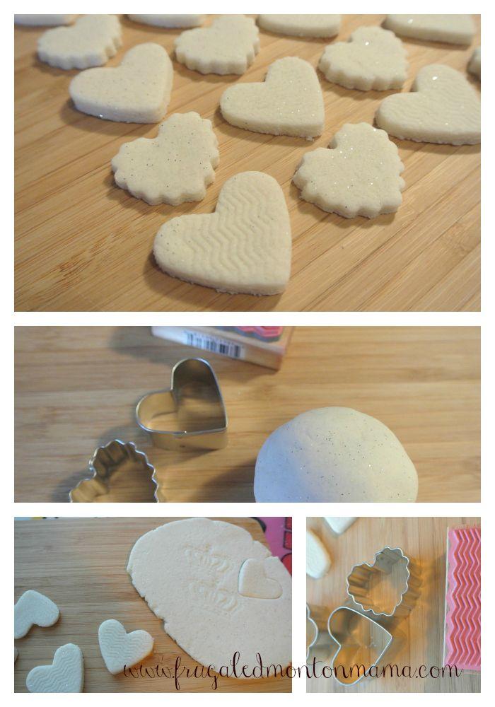 Diy Salt Dough Beads Airdry Nobake For Valentine S Day