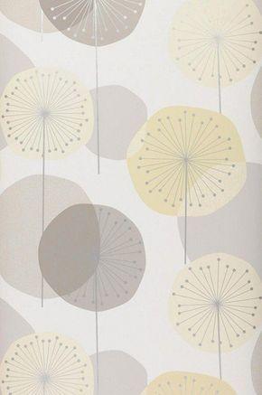 Papier peint - Muriel deco intérieur Pinterest Beige