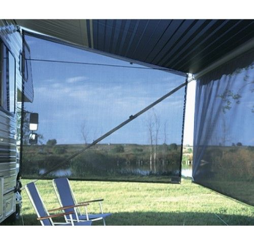 Carefree Co For Use On Awning Ends One Size Black Camping Essentials Awning Shade Carefree Awning