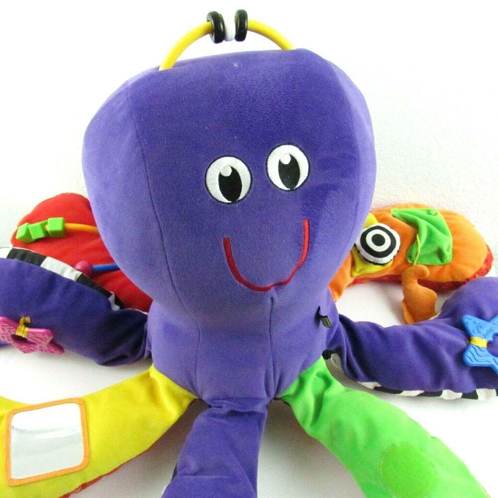 IQ Baby My Oh My Octopi Purple Octopus Developmental ...