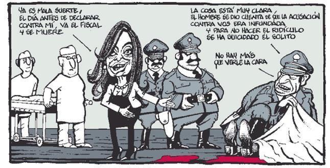 España se burla de CFK
