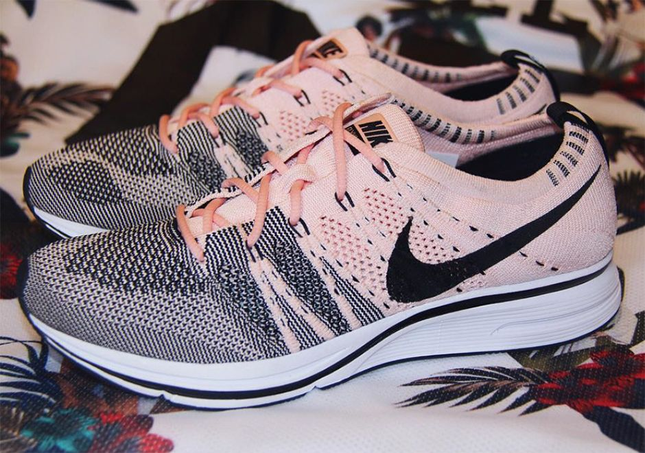 separation shoes 38284 a36b6 The Nike Flyknit Trainer Sunset Tint (Style Code  AH8396-600) will release  Summer 2017 featuring a brand new pink Flyknit upper. More
