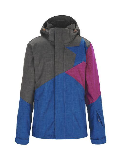 SARIN   Women's Snow Jacket   Fall / Winter Collection 2012 / 2013   www.zimtstern.com   #zimtstern #fall #winter #collection #womens #snow #jacket #snowjacket #snowwear #wear #clothing #apparel #fabric #textile