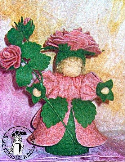 Rose Blumenkinderwerkstatt - Blumenkinder für den Jahreszeitentisch