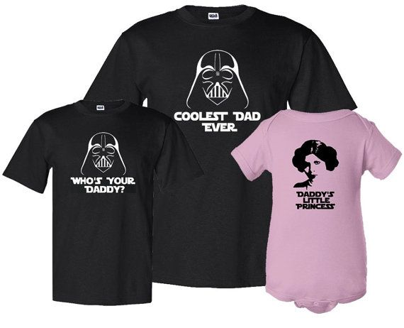 f3928687 Fathers Day Matching Father / Son / Daughter Three Piece Set Dad T-shirt  and Kids Shirt / Bodusuit Fathers Day Gift Idea