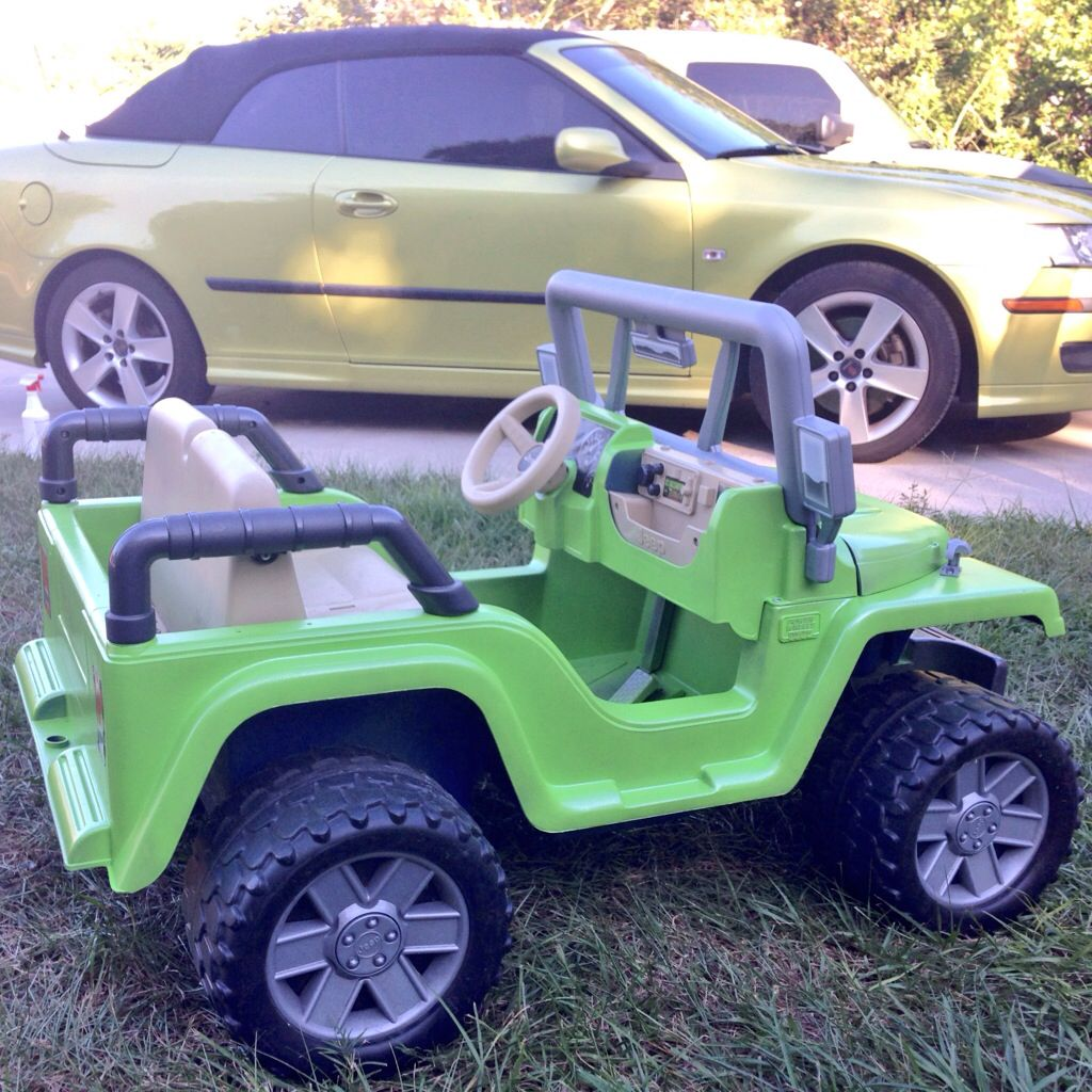 Zack S Jeep Electric Lime Green With Silver Metalizer Plastidip Dipyourcar Lime Green Golf Carts Jeep