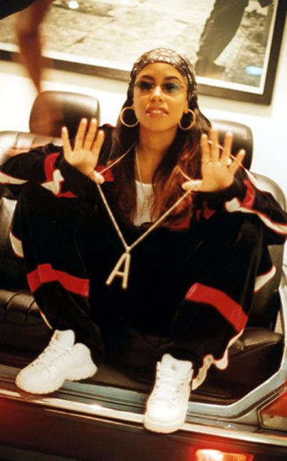 Aaliyah Photo: Aaliyah #aaliyahfashion