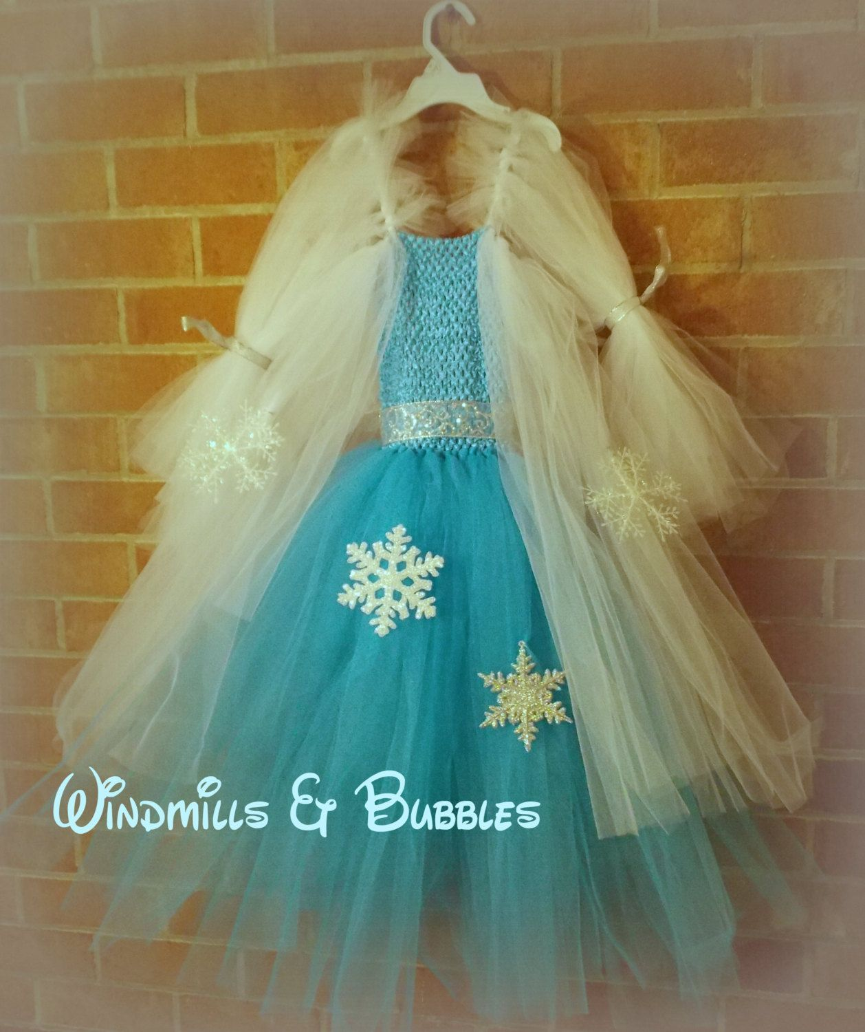 Elsa+a+Frozen+Inspired+Tutu+Dress+AND+by