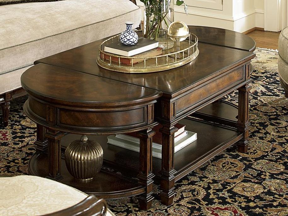 Biltmore Bunching Cocktail Table Center Fine Furniture Design
