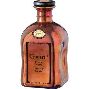 Gin Classic Metal 0,7 liter - Copper mal anders: Gin der Ziegler Brennerei mit der Kupferlegierung als echtes Highlight!