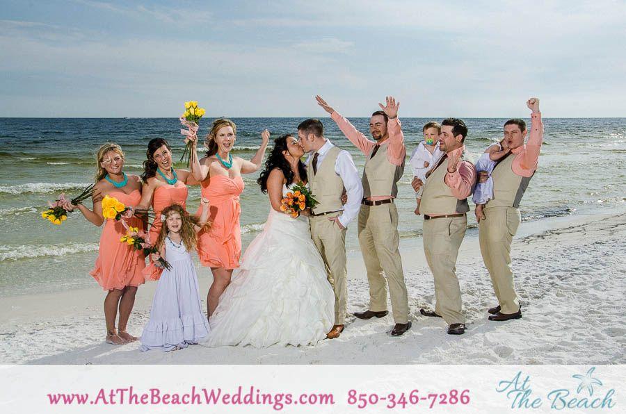 Another Gorgeous Beach Wedding At Gulf State Park In Gulf Shores Alabama Gulf Coast Wedding Beach Wedding Photography Florida Beach Wedding
