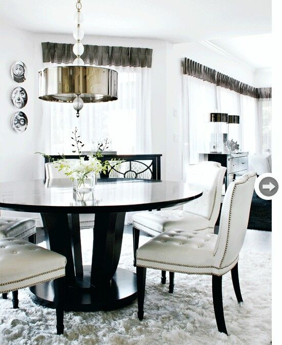 Hollywood Glam Dining Room Set Off 66