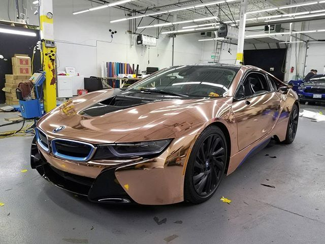 2017 Vvivid Sp Conform Rose Gold Chrome Manifesting Cars Bmw