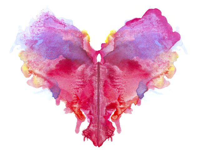This Color Blot Test Will Determine Your Dominant Personality Trait ...