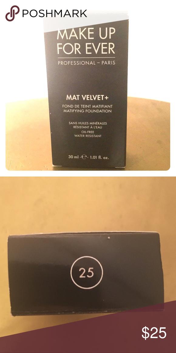 Makeup Forever Mat Velvet Foundation Color 25