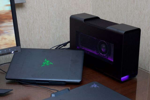 Razer Uses Thunderbolt 3 To Add Dedicated Graphics To Its Sleek New Ultrabook Razer Ultrabook Thunderbolt