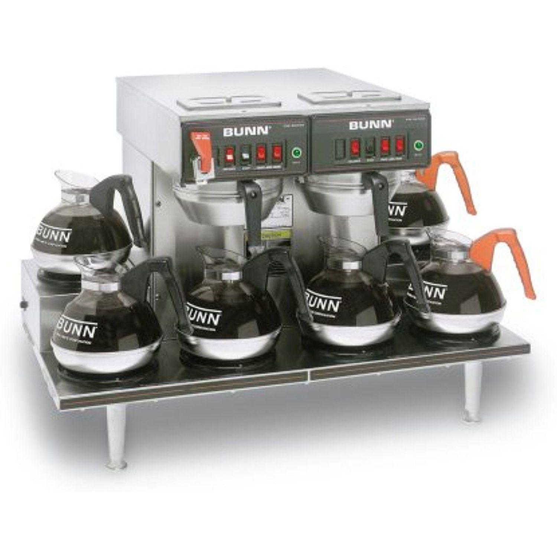 Bunn brewer cwtf 06 twin coffee machine maker to view