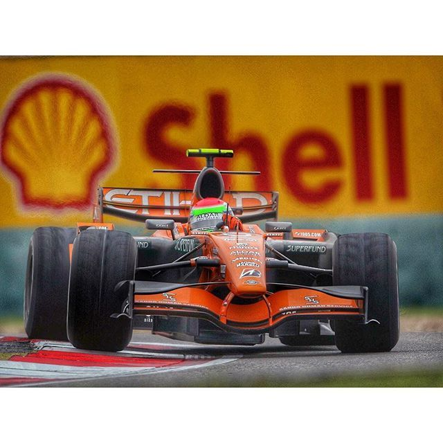 Adrian Sutil, China GP 2007 #grandprixsundays #sundaysGP #carrot #AdrianSutil #Shanghai #ChineseGP #China #throwback #f1 #FIA #Formula1