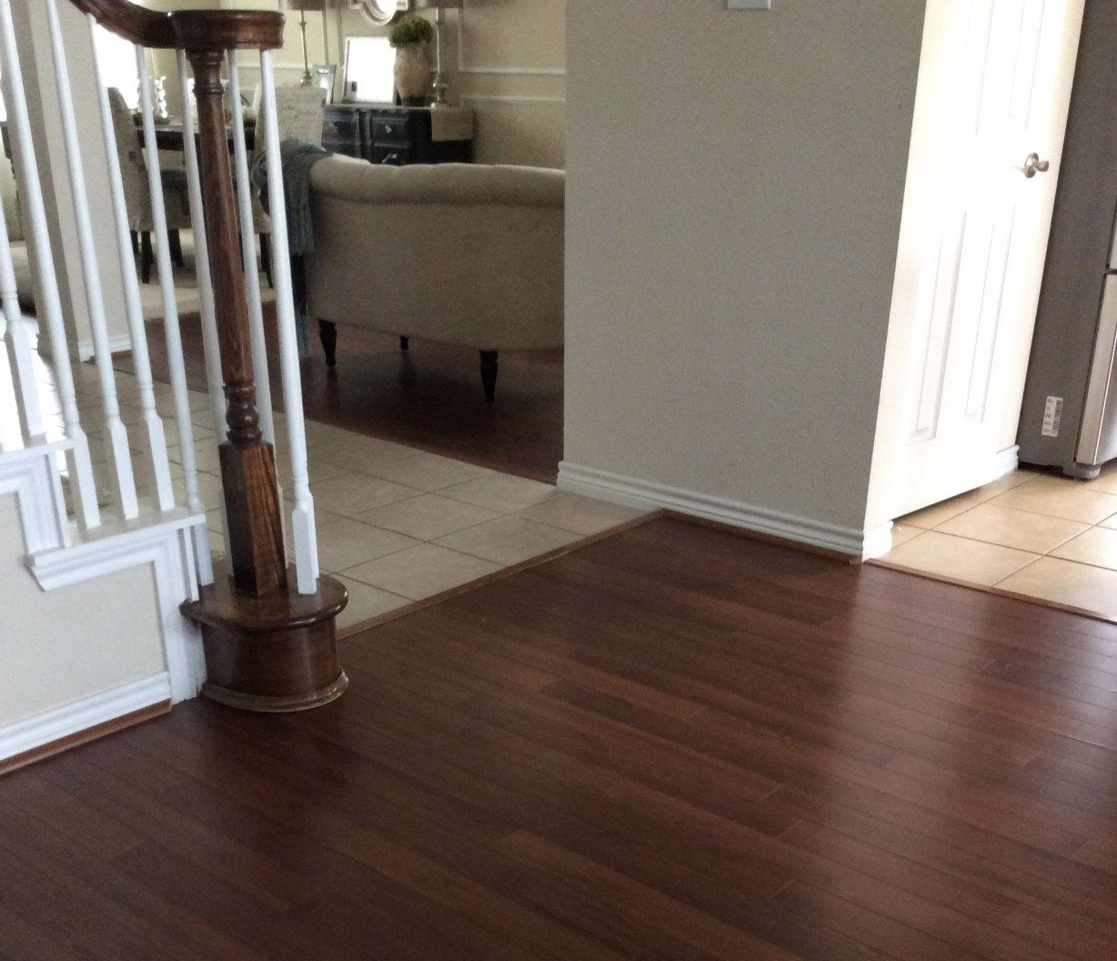 OUR STAIRCASE UPDATE + JAVA VS ANTIQUE WALNUT GEL STAIN