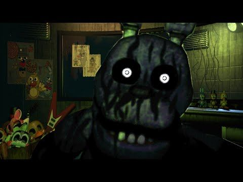 Five Nights at Freddy's 3 Phantom Bonnie Jumpscare ( Fan Made) New