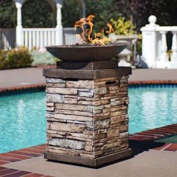 Red Ember New Castle Propane Fire Bowl Outdoor Living Gas Fires Outdoor Fire Fire Pit Patio