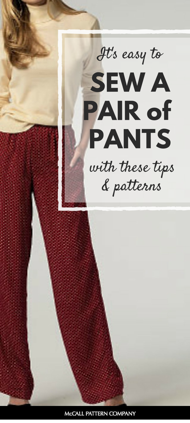 Easy patterns for beginning sewers pants easy sewing projects easy patterns for beginning sewers part pants sew a pair of pants that are perfect for beginning sewers pants can be so fast and easy to sew jeuxipadfo Image collections