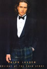 Image result for black watch tartan tuxedo trousers | Ralph