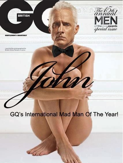 What if GQ's Man of the Year was photographed like their Woman of the Year? (Well, that would be bullshit wouldn't it?)