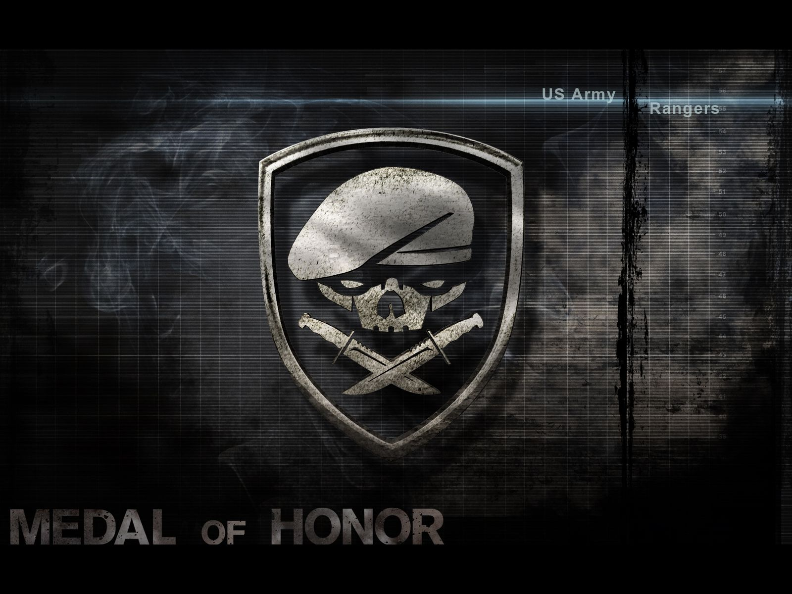 Army Rangers Wallpaper: Us Army Rangers Medal Of Honor Wallpaper