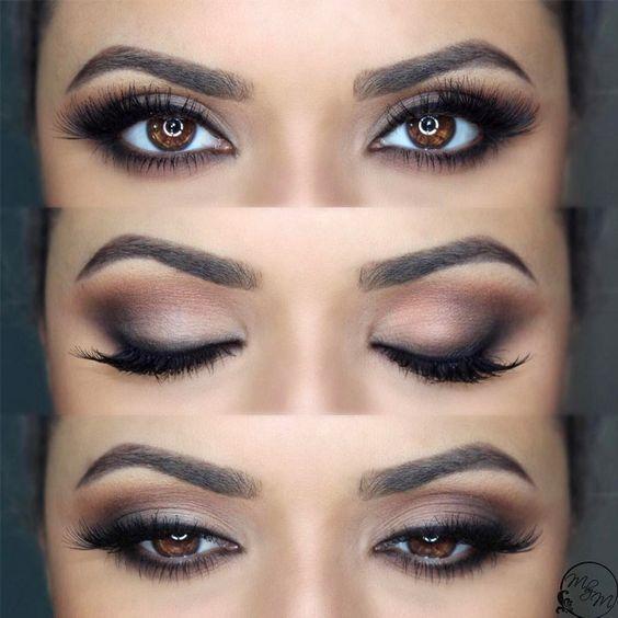 50 trendiest brown eye makeup ideas you can use for prom or party ,  #Brown #Eye #ideas #Makeup #Party #Prom #summereyemakeup #Trendiest
