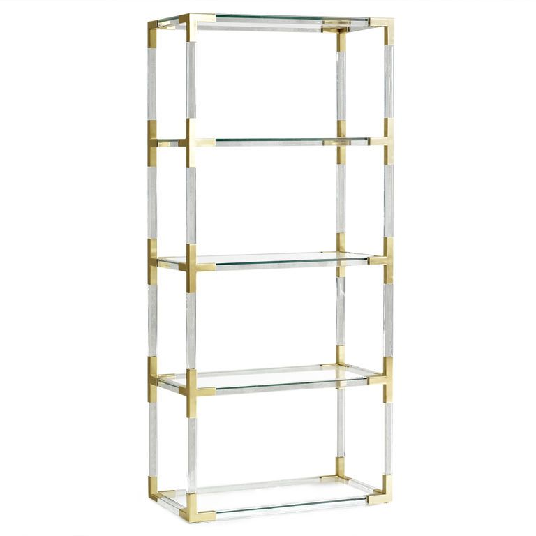 Jacques Etagere Jonathan Adler Contemporary Bookcase Etagere