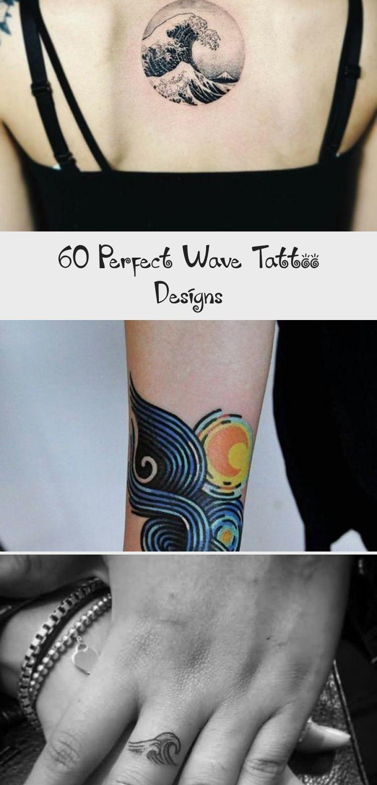 Photo of 60 Perfect Wave Tattoo Designs – Tattoo