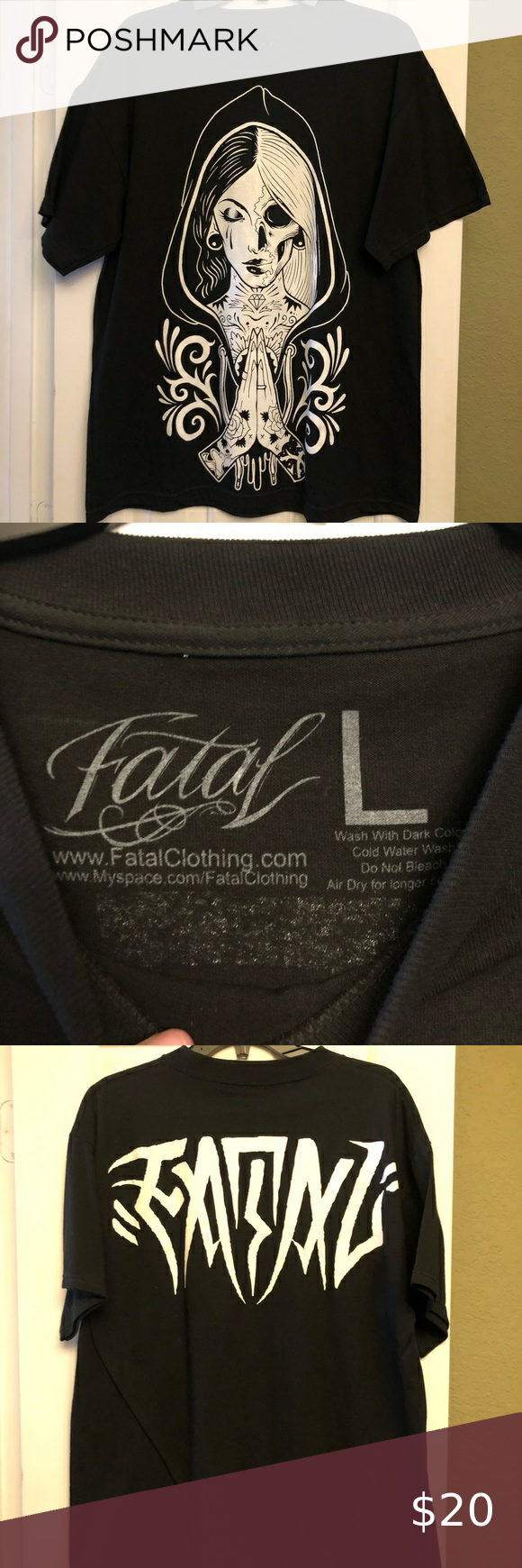 Fatal T Shirt T Shirt Shirts Mens Tops