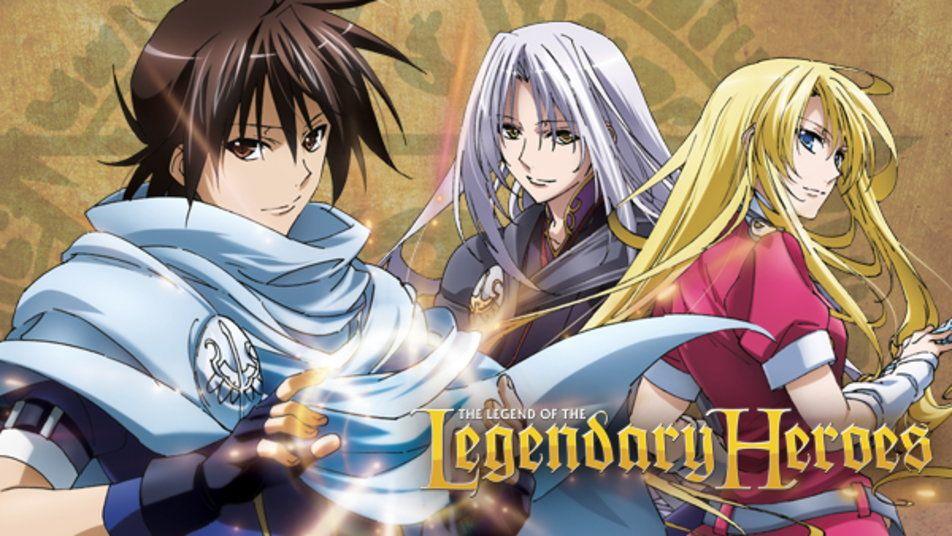 The Legend of the Legendary Heroes Tears to tiara, Hero
